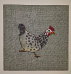 Wall Tile in Sophie Allport Chickens